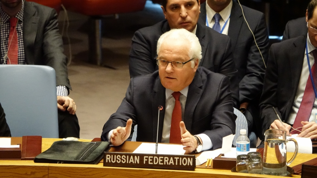 Statement by Ambassador Vitaly I. Churkin, Permanent Representative of the Russian Federation to the United Nations, during the Security Council meeting on the situation in the Middle East