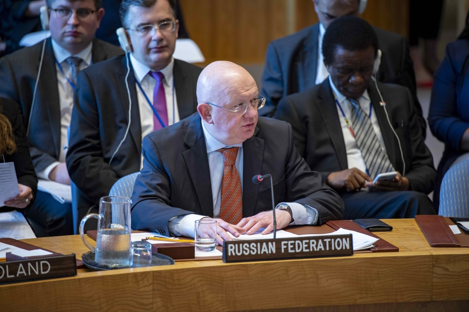 Statement by Permanent Representative Vassily Nebenzia at the UN Security Council meeting on sexual violence in conflict