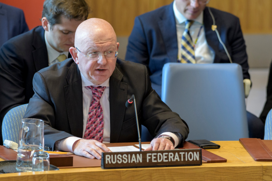 Statement by Permanent Representative Vassily Nebenzia at the UN Security Council Meeting on the situation in the Middle East, including the Palestinian question
