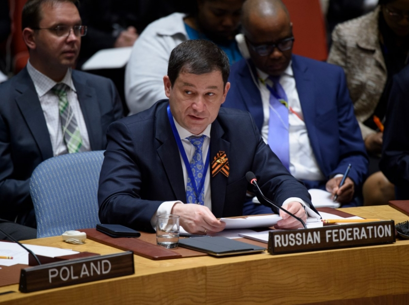 "Statement by Acting Permanent Representative Dmitry Polyanskiy at the Security Council open debate ""United Nations peacekeeping operations. Investing in peace: Improving safety and performance of UN peacekeepers"""