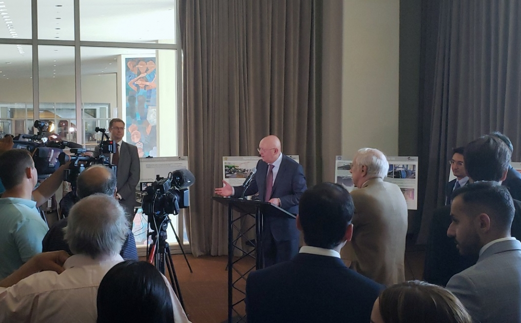 Welcoming remarks by Permanent Representative Vassily Nebenzia at the opening ceremony of Photo-Exhibition