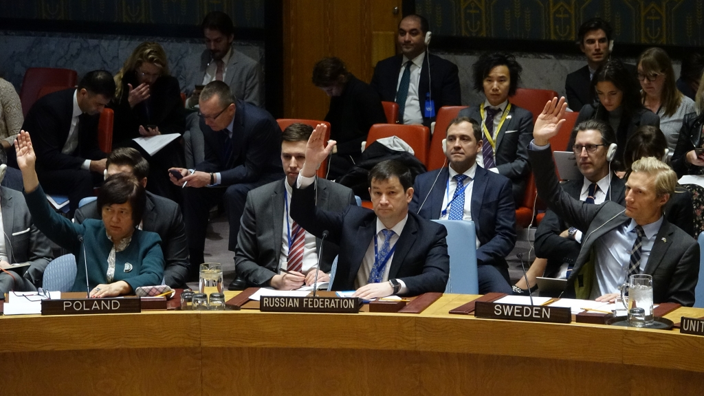 Statement by Mr.Dmitry Polyansky, First Deputy Permanent Representative of the Russian Federation to the United Nations, at the Security Council on the adoption of UNSCR 2404 on Guinea-Bissau