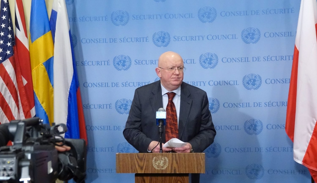 Remarks by Ambassador Vassily A. Nebenzia, Permanent Representative of the Russian Federation to the United Nations, following UNSC consultations on the situation in Yemen