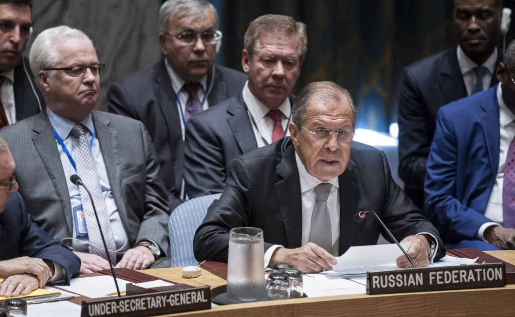 Statement by Mr. Sergey Lavrov, Minister for Foreign Affairs of the Russian Federation at the UN Security Council High-Level Briefing on the Situation in the Middle East and North Africa