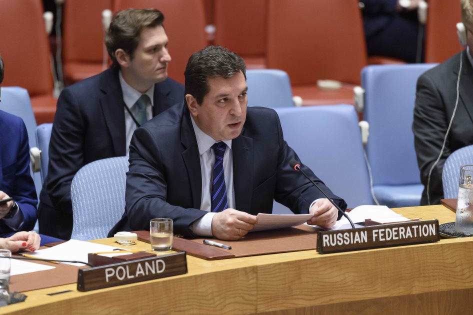 Statement by Deputy Permanent Representative Vladimir Safronkov at the UN Security Council meeting on Iraq