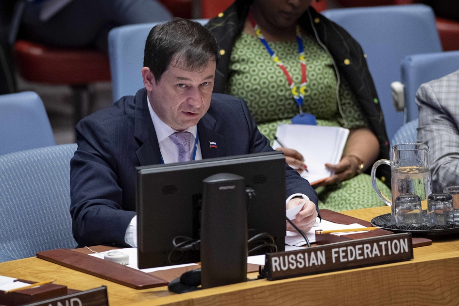 Statement by First Deputy Representative Dmitry Polyanskiy at the UN Security Council Briefing on Somalia