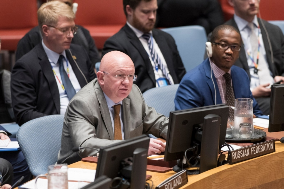 Statement by Permanent Representative Vassily Nebenzia at the UN Security Council open debate
