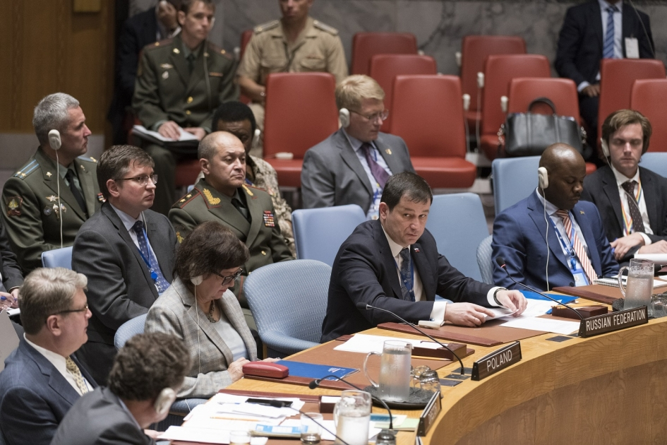 Statement by First Deputy Permanent Representative Dmitry Polyanskiy at the UN Security Council Meeting on United Nations Peacekeeping Operations