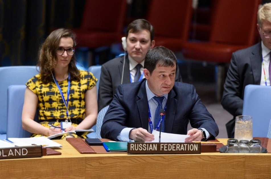 Statement by First Deputy Permanent Representative Dmitry Polyanskiy at the UN Security Council Meeting