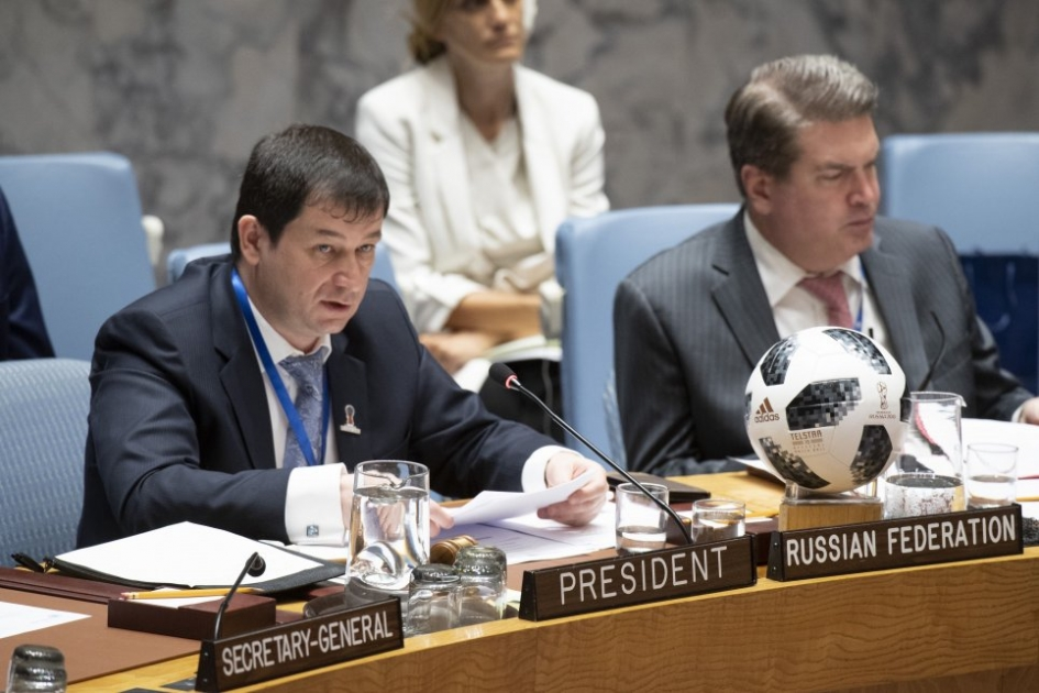 Statement by Mr.Dmitry Polyansky, First Deputy Permanent Representative of the Russian Federation to the United Nations, at the Security Council on the sitiation in Mali