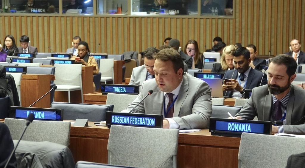 Statement by representative of Russian Federation Mr. Fedor Strzhizhovskiy 