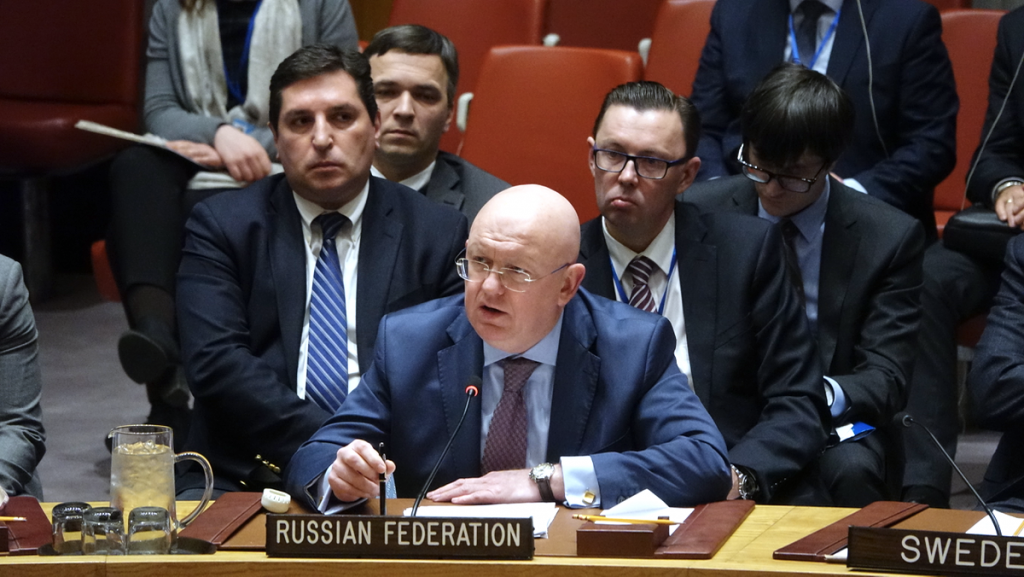 Statement by Ambassador Vassily A. Nebenzia, Permanent Representative of the Russian Federation to the United Nations, before the vote on the Security Council resolution on sanctions against Yemen