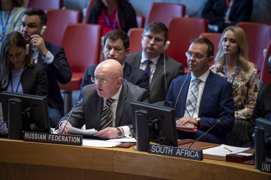 Statement by Permanent Representative Vassily Nebenzia at the UN Security Council Meeting on Ukraine
