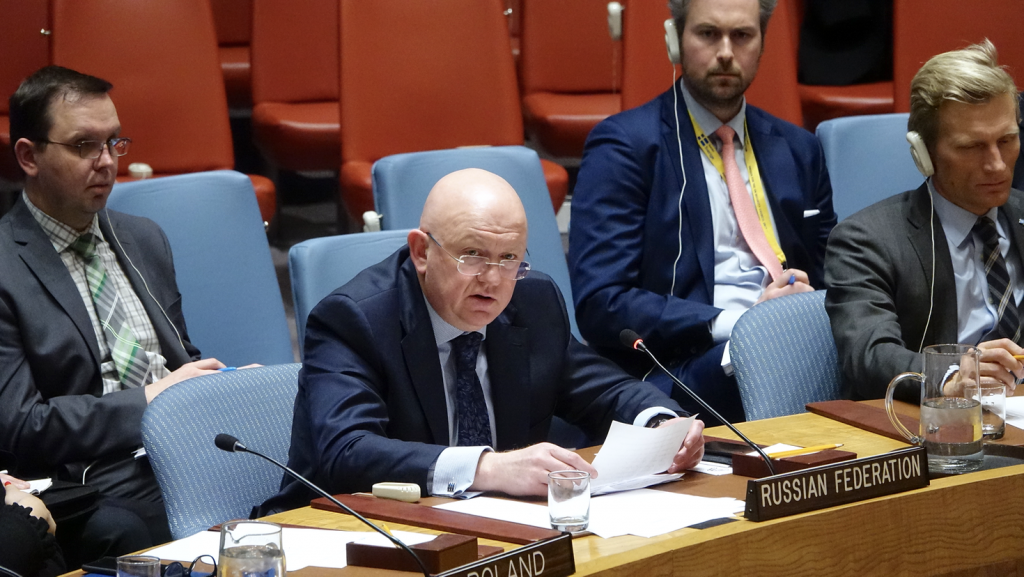 Statement by Ambassador Vassily A. Nebenzia, Permanent Representative of the Russian Federation to the United Nations, at the Security Council on the Briefing by the Chairperson-in-Office of the Organization for Security and Cooperation in Europe