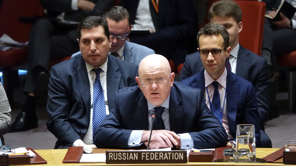 Statement by Ambassador Vassily A. Nebenzia, Permanent Representative of the Russian Federation to the United Nations, at the Security Council meeting on the sitiation in Afghanistan